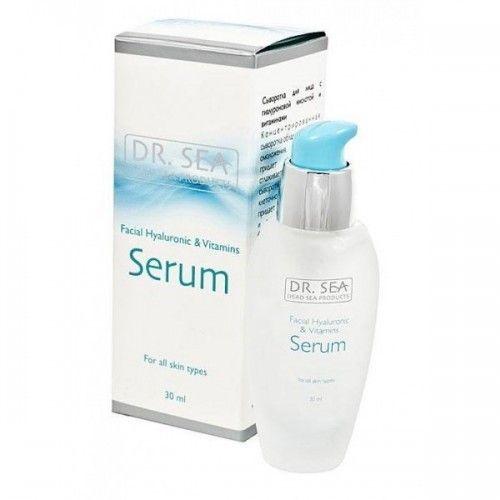 Сыворотка для лица с гиалуроновой кислотой и витаминами Dr.Sea (Доктор Си) 30 мл