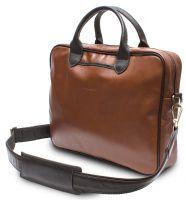 HADLEY CAMP RED кожаная деловая сумка