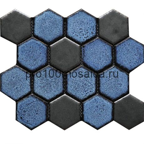 Hexa-30(4). Мозаика СОТЫ 66x77x10, серия Hexa,  размер, мм: 275*240 (GAUDI)