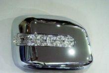 Накладки зеркал со встроеным LED повторителем, хром