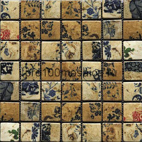 Hola-3(3). Мозаика 36x36x10, серия HOLANDA,  размер, мм: 278*278 (GAUDI)