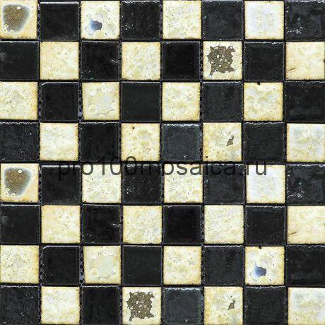 Rust-4(3). Мозаика 33x33x10, серия RUSTICO,  размер, мм: 280*280 (GAUDI)