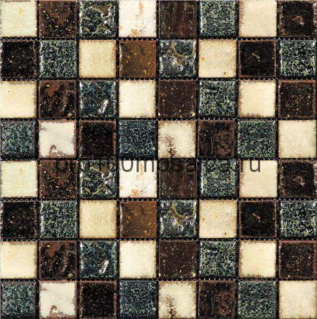Rust-7(3). Мозаика 33x33x10, серия RUSTICO,  размер, мм: 280*280 (GAUDI)