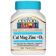 21st Century Health Care Cal Mag Zinc + D3 (90 табл.)