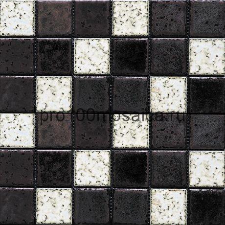 Rust-24(4). Мозаика 48x48x8, серия RUSTICO,  размер, мм: 300*300 (GAUDI)