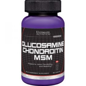 Ultimate Nutrition Glucosamine & Chondroitin + MSM (90 табл.)