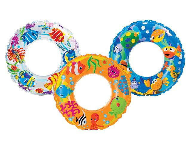 Intex Круг для плавания детский 61 см. 59242