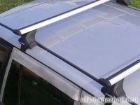 Багажник на крышу Toyota RAV4 xa40 (c 2013 г.), Атлант, крыловидные дуги, опора Е
