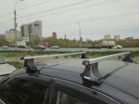 Багажник на крышу Toyota Camry, Атлант, прямоугольные дуги