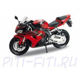 WELLY. Игрушка модель мотоцикла 1:18 Honda CBR1000RR