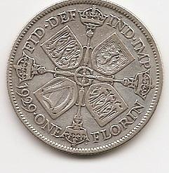 2 шиллинга (флорин) Великобритания 1929