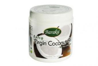 Кокосовое масло Барака Вирджин. Нерафинированное, 250 мл