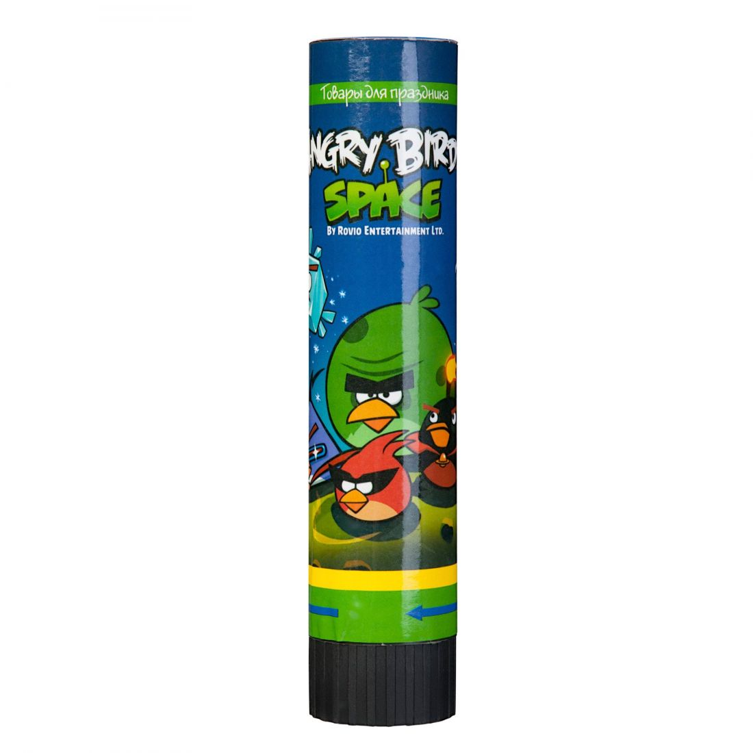 Хлопушка пружинная Angry Birds, 20 см
