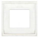 Madrid Provence Рамка 1-ная, White Decape