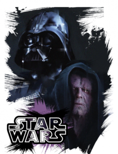 Darth Vader and Palpatine