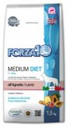 Forza10 Medium Diet all'Agnello Диетический полнорационный корм для взрослых собак средних пород (1,5 кг)