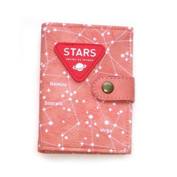 """Держатель для карточек """"Stars"""" - Pink"""