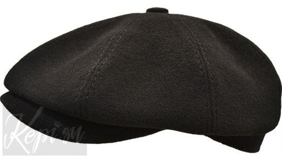 Кепка мужская шерстяная восьмиклинка (блэк)