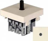 Fede Выключатель поворотный стандартн. без подсветки 10А 250В~, беж.