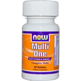 Now Foods Multi One Multi Vitamin & Mineral (30 табл.)