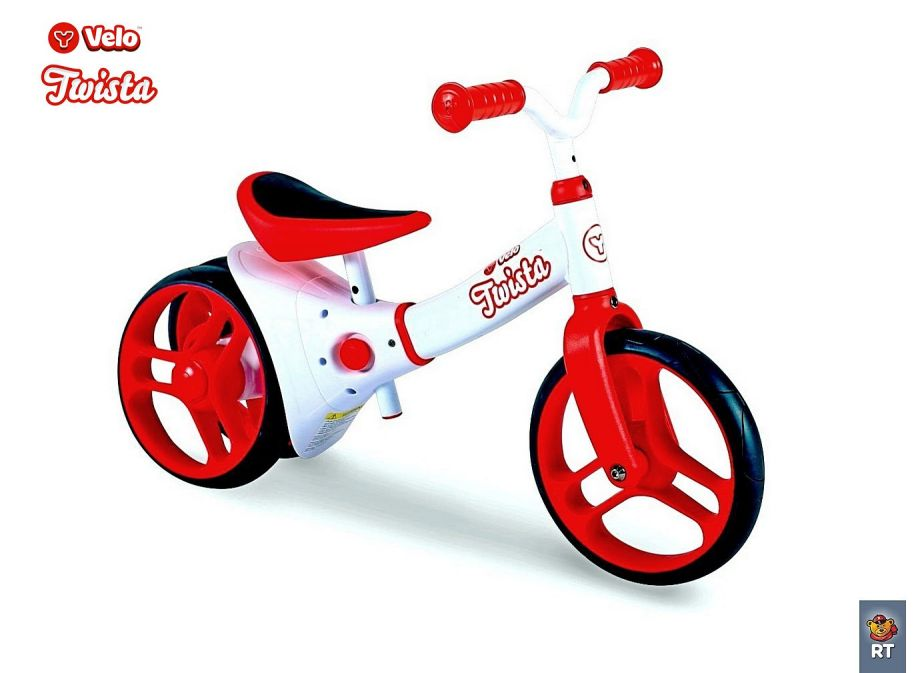 Беговел Y-BIKE Y-volution Y-VELO TWISTA Balance bike red