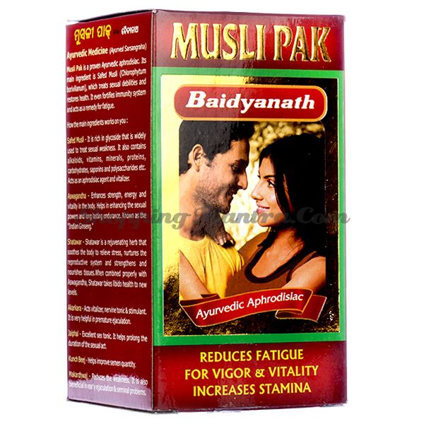 Мусли Пак стимулирующий препарат для мужчин (гранулы) Байдьянатх /Baidyanath Musli Pak