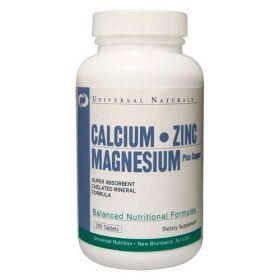 Universal Nutrition Calcium Zinc Magnesium (100 табл.)