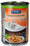 Dr. Clauder's Poultry&Carrot - C домашней птицей и морковью в соусе (415 г)