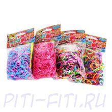 LOOM TWISTER Набор цветных резинок для плетения фенечек