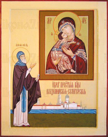 Владимирская Селигерская икона БМ (рукописная)