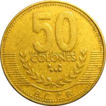 Коста-Рика 50 колон 2007 г.