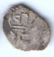 1 акче 1525-1535 гг. Ширваншахи,  г. Шемаха
