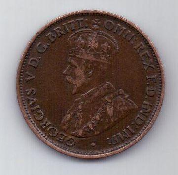 1/2 пенни 1912 г. Австралия