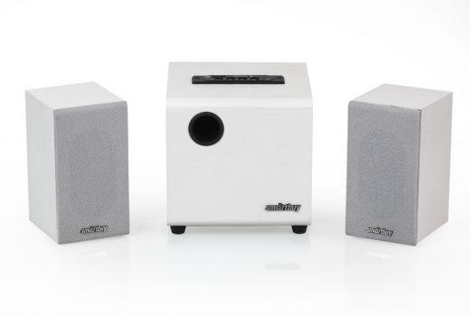 Мультимедийные колонки 2.1 SmartBuy® SPARTA, MP3, FM, корпус МДФ, белая