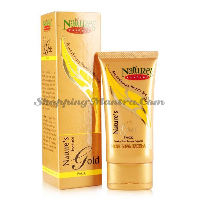 Антивозростная увлажняющая маска для лица с золотом / Nature's Essence Gold Face Pack