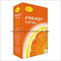 Мыло-скраб для лица и тела Апельсин Маджик Аюрведа / Magic Ayurveda Orange Scrub Soap