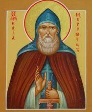 Илья Муромец (рукописная икона)