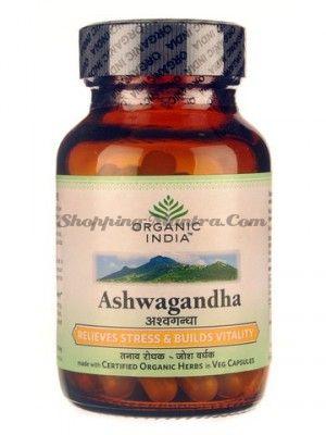 Ашваганда для нервной системы в капсулах Органик Индия / Organic India Ashwagandha