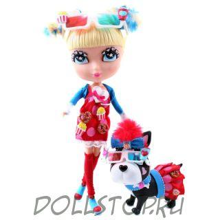 """Набор с куклой Кьюти Попс ДеЛюкс """" Ночь кино"""" - Cutie Pops Dolls """"Movie night """""""