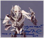 Автограф: Мэттью Вуд. Звёздные войны. (Star Wars)