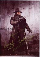 Автографы: Хью Джекман  ( Ван Хельсинг )