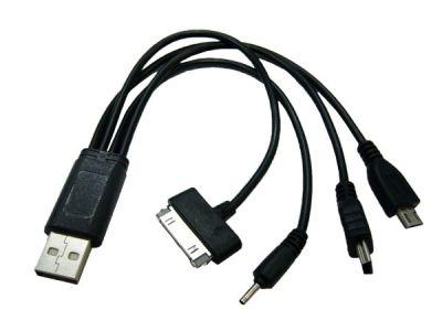Переходник USB Орбита BS-413 (miniUSB, 2.0, iPad/SAM TAB, microUSB)
