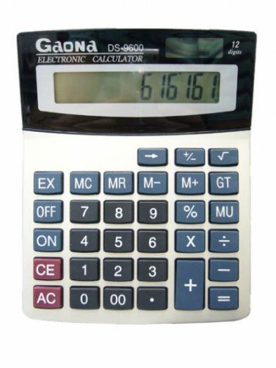 Калькулятор GAONA DS-9600 (12 разр.) настольный *