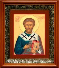 Стахий, апостол (19х22), светлый киот