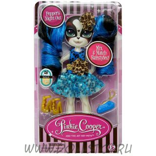 Аутфит для коллекционной  куклы  Pinkie Cooper - модница-путешественница Пеппер Парсон
