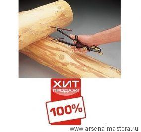 Выгодный комплект: плотницкая черта Veritas Log Scriber 05u05.01 М00003546 и 10 карандашей М00004897 за полцены! ХИТ!