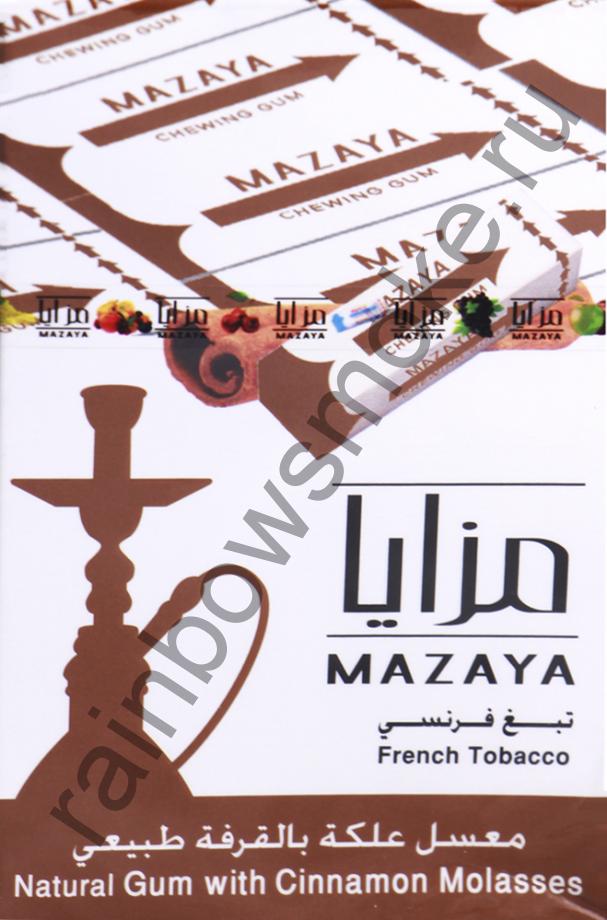 Mazaya 50 гр - Gum with Cinnamon (Жвачка с Корицей)
