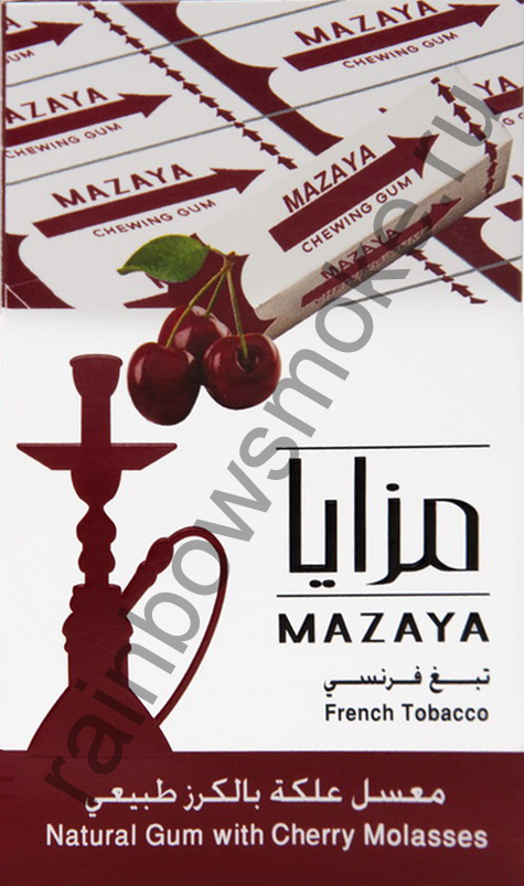 Mazaya 50 гр - Gum with Cherry (Жвачка с Вишней)