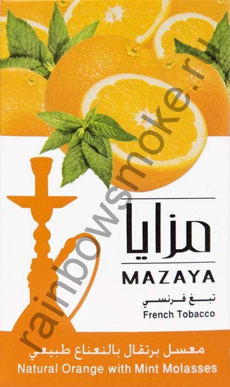 Mazaya 50 гр - Orange with Mint (Апельсин с Мятой)