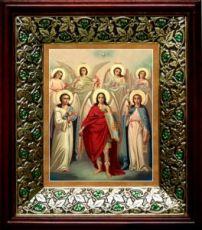 Собор святых Архангелов (21х24), киот со стразами